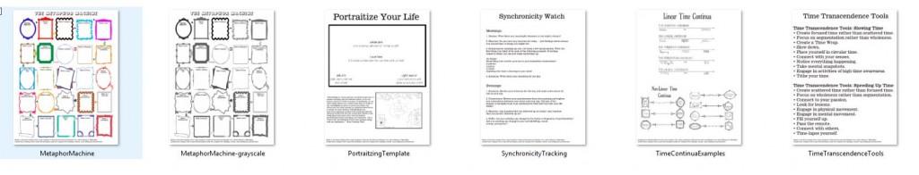 handouts - screen shot