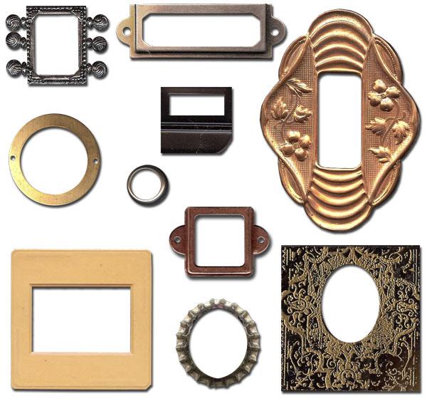 Tiny Frames — Digital Ephemera Pack
