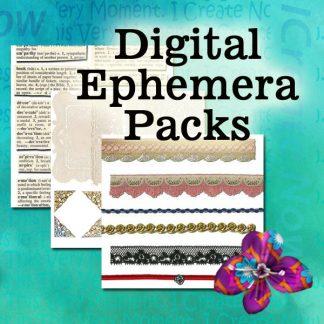 Digital Ephemera Packs