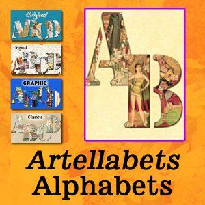 Artellabets Alphabets