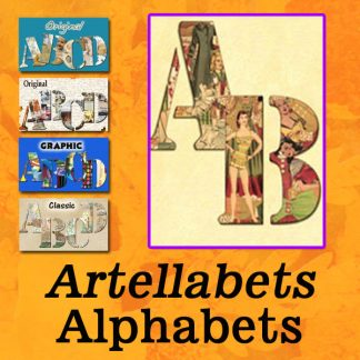 Artellabets Alphabets