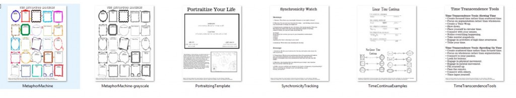 handouts - screen shot